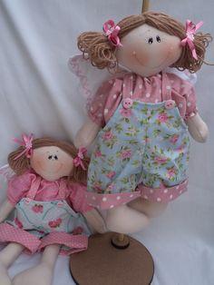 anjinho boneca para crianças decoração da para pendurar na porta.