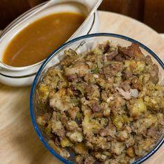 Delicious Stuffing for Roast Turkey ArtandtheKitchen: Roast Turkey, Stuffing and Gravy