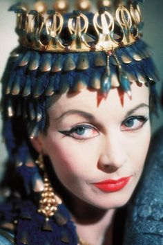 """Vivien Leigh in """"Caesar and Cleopatra"""" 1945."""