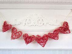 http://www.weknowstuff.us.com Kid's Valentine Craft Twine Hearts