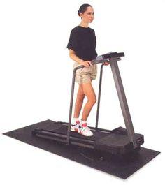 Treadmill Mat - Exercise Equipment Mats