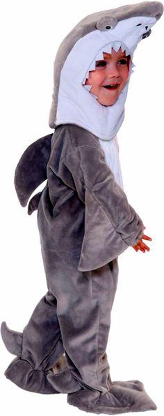 Shark Toddler Costume #sharkweek