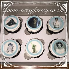 Star Wars Edible Picture Cupcakes #starwarscupcakes