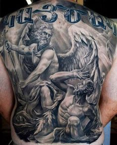 Archangel Michael tattoo
