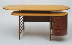 Frank Lloyd Wright, desk mid to late 30's