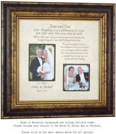 1159 best Wedding Thank You Gifts for Parents images on Pinterest in ...
