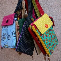 Sewing Projects, Diy Projects, Pouch, Wallet, Purse Patterns, Mobiles, Purses And Bags, Diy Crafts, Homemade