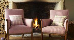 Isles of Skye. Wool Plaid, Twill & Herringbone Upholstery Fabrics | Prestigious Textiles