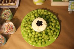 monsters inc party ideas :: mikes eye grape platter ♥
