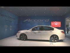 2014 Honda Accord PHEV - 2012 Los Angeles Auto Show 100 MPG 196 HP