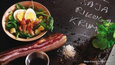 Salata od rikole sa slaninom