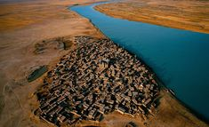 Village au Niger, Mali, par Yann Arthus-Bertrand. Most Beautiful Villages Around The World