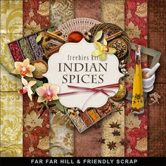 New Freebies Kit - Indian Spices