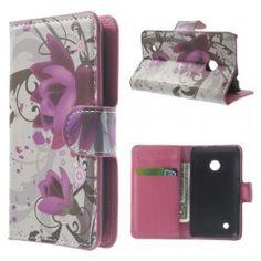 Lumia 530 violetit kukat puhelinlompakko Alexander Mcqueen Scarf, Wallet, Accessories, Handmade Purses, Purses, Diy Wallet, Purse