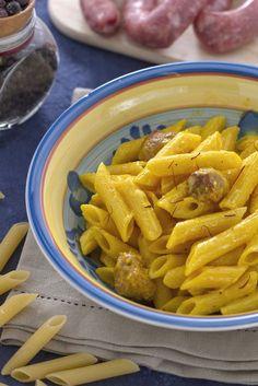 #Zafferano, #panna e #luganega: w la #pasta alla #monzese! #italianfood