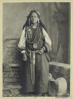 Tibetian lady