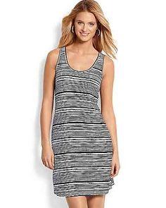 Tommy Bahama - Tambour Terrace Stripe Tank Dress