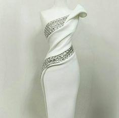 36 Trendy Wedding Reception Dress For Bride Bling Evening Dresses, Prom Dresses, Formal Dresses, Wedding Dresses, Wedding Shoes, White Formal Gowns, Silver Evening Gowns, Evening Gowns Couture, Reception Dresses