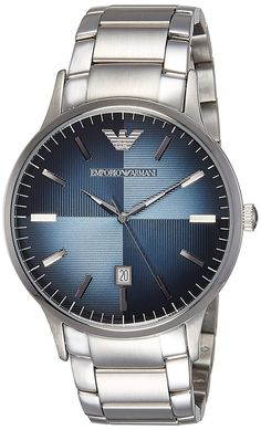 Find the best price at DGEXP India for this Emporio Armani Analog Blue Dial Men's Watch - online. Big Watches, Dream Watches, Sport Watches, Cool Watches, Watches For Men, Wrist Watches, Armani Men, Emporio Armani, Armani Watches