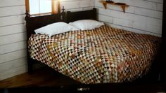 "Quilt in ""Slow West"" movie. Just watched this wonderful film and this lovely quilt was right at the end."
