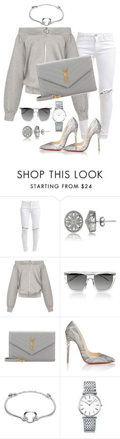 """Untitled #139"" by styledbytammy on Polyvore featuring FiveUnits, DB Designs, Alexander Wang, Yves Saint Laurent, Christian Louboutin, Eddie Borgo and Longines"