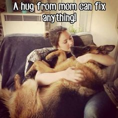 Hug your dog. All th