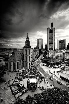 Frankfurt. It's big, loud, and I hate the traffic but there are some lovely things about Frankfurt.