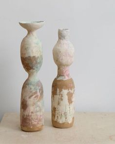 Inspired by the craftsmanship of working with your hands. Our transeasonal capsule notes delicate lace detailing in collars and cuffs balanced by the chalky peach tones in the architectures surrounds. Ceramic Clay, Ceramic Vase, Ceramic Pottery, Pottery Art, Keramik Design, Vase Shapes, Pottery Sculpture, True Art, Contemporary Ceramics