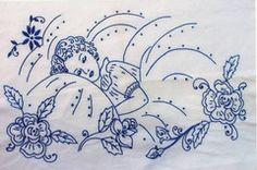 Sweet Dreams Vintage Embroidery