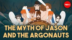 This is a fun video that gives a rundown of the myths Jason is a part of. It is part of the TedEd series, and this particular video was created by Iseult Gillespie Social Studies Activities, Fun Activities, Strongest Man Alive, Sabrina Gonzalez, Michael Goldberg, Jason And The Argonauts, Castor And Pollux, Early Middle Ages, Book Recommendations
