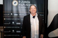 Harvey Weinstein on the Green Carpet at the ZFF 2013