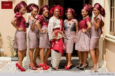 Nigerian Wedding: More stunning Ore-Iyawo styles.