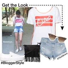 """""""Ciao Ellie Tee #GetTheLook #BloggerStyle"""" by tsjgbrand on Polyvore"""