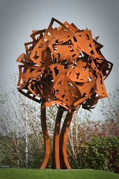 Oak made out of metal. #unexpected #unusual #weird #tastefortheunexpected