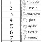 FREE Halloween ABC order cut and glue