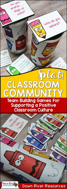 Classroom Community Games Mega Bundle   Getting to Know You Activities   First Day of School Activities   Team Building Activities   Positive Classroom Culture   Back to School Activities   Back to School Games   Getting to Know You Games