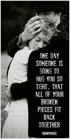 To whomever is reading this. Consider this a hug from me to you, to let you know that someone out here really does care about you and I hope that this gives you the strength to get through whatever it is that you may be going through.