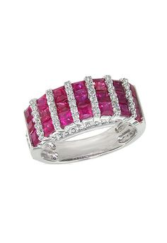 Ruby and Diamond Ring, 2.45 TCW