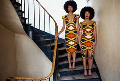Afro and african prints African Inspired Fashion, African Print Fashion, Africa Fashion, African Fashion Dresses, Fashion Prints, African Prints, African Attire, African Wear, African Women