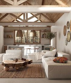 Interior Design Living Room, Living Room Designs, Home Living Room, Living Spaces, Casa Wabi, Wabi Sabi, Interior Design Inspiration, Interior Architecture, Chinese Architecture