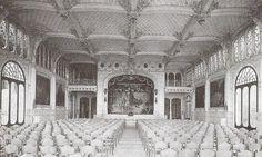 Escenari Palau de Festes al 1909