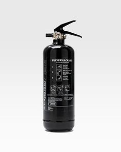 FireInvent / Fire Extinguisher 2kg Black / Fire Extinguisher /...