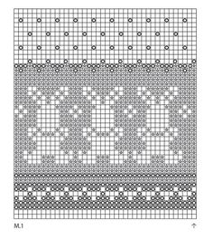 """Bunny Parade - Knitted DROPS pot holder with pattern for Easter in """"Paris"""". - Free pattern by DROPS Design Fair Isle Knitting Patterns, Knitting Charts, Knitting Stitches, Free Knitting, Sock Knitting, Vintage Knitting, Drops Design, Crochet Baby Mittens, Cross Stitch Baby"""