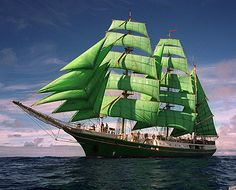 Tall Ship  SS Alexander von Humboldt I  Ship for the youth and other ages  http://www.gruene-segel.de/  Becks Schiff (Alexander von Humboldt )