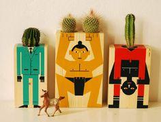 Cactus containers. Damián Quiroga, 2013.