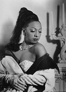 {Josephine Baker}There came a very big book about Dior a few years ago, and that big Dior event at the Metropolitan - Princess Diana was there -- and I went to [the] Dior [people] and I said, 'You don't even have a dress of Josephine's, you don't even have a picture. You should be ashamed.' They told me that there had been a flood in the basement of the building and they had lost all of the materials.  So no one remembers now that Josephine was the one to revive French haute couture after…