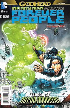 Infinity Man and the Forever People # 6 DC Comics The New 52!