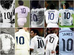 El 10 a lo largo de la historia del Real Madrid ha sido ocupado por grandes jugadores con habilidades y tecnicas muy diversas pero siempre dentro de los estandares que la posicion requiere y sobretodo en un club tan grande como el Real Madrid