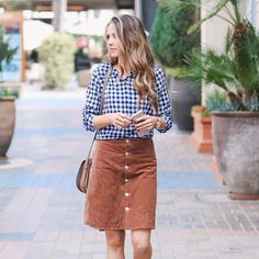 """1,235 Likes, 25 Comments - Merrick White / Style & Sewing (@merricksart) on Instagram: """"A new DIY post is on the blog today for this suede button up skirt. I've been dying for one for a…"""""""
