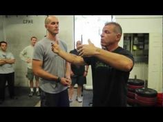 *video* The first drill in Tony Blauer's CrossFit Defense Course is called Outside 90.